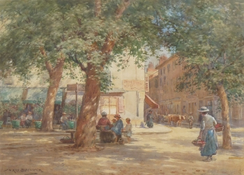 Chambery de Lac, nr Grenoble, William Kay Blacklock