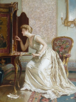 Getting Ready for the Ball, Edmund Havell Jnr