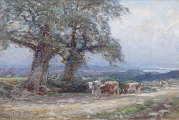 Distant View of Poole Harbour, Frederick William Newton Whitehead