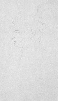 Sketch of a Woman, Henri de Toulouse-Lautrec