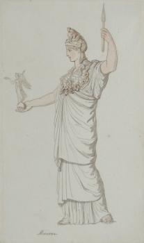 Minerva, Thomas Rowlandson