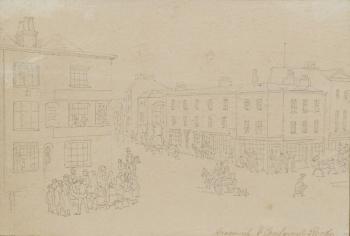 Camberwell & Greenwich Roads, Thomas Rowlandson