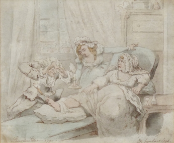 On Her Last Legs, Thomas Rowlandson