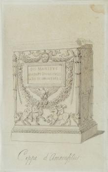 Cippe D'Amemptus, Thomas Rowlandson