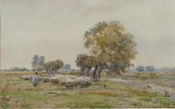 Shepherd & Flock, Claude Hayes