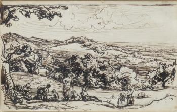 Pastoral Scene, John Linnell