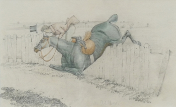 Taking a Tumble, Henry Thomas Alken