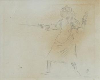 The Fencer, Augustus John
