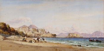 Naples, Italy, Edward William Cooke