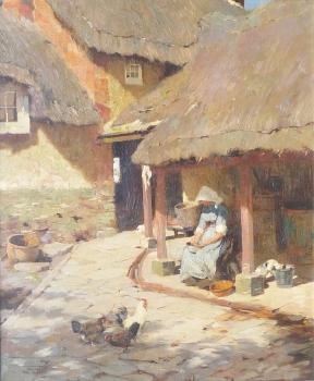 A Quiet Corner, Frederick Hall