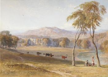 Bolton Abbey, Yorkshire, George Arthur Fripp