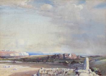 Western Fields & Bays, Samuel John Lamorna Birch