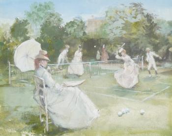 Tennis, John Strickland Goodall