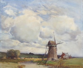 An East Anglian Windmill, Hubert Coop