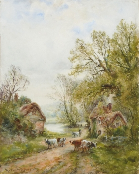 Near Burpham, Sussex, Henry John Kinnaird