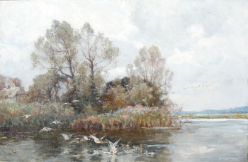 The Frome, near Dorchester, Dorset, Frederick William Newton Whitehead