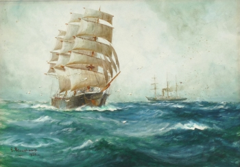 Clipper before the Wind, Earl Beauchamp