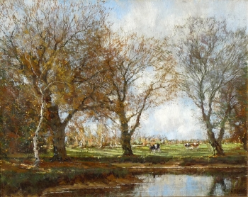 A Sunny Day, Arnold Marc Gorter