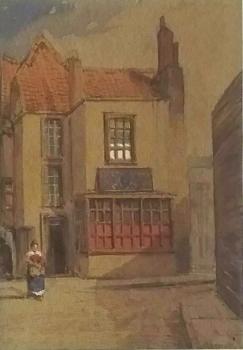 The Blue Bowl, Pithay, Bristol, Alfred Edward Parkman
