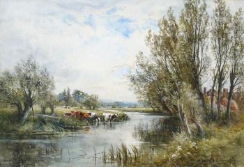 Near Flatford, Essex, Henry John Kinnaird