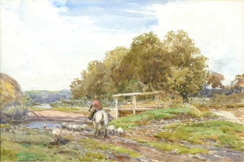The Ford near Ringwood, Claude Hayes