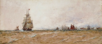 Off Dover, Kent, Thomas Bush Hardy