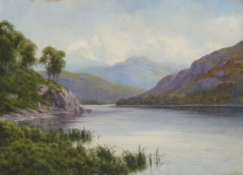 Scene in the Lake District, Edward Horace Thompson