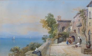 View of Lake Como, Italy, Thomas Miles Richardson jnr
