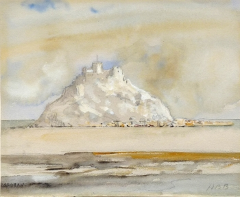 St Michael's Mount, Cornwall, Hercules Brabazon Brabazon