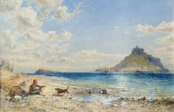St Michael Mount, Cornwall, William Collingwood Smith
