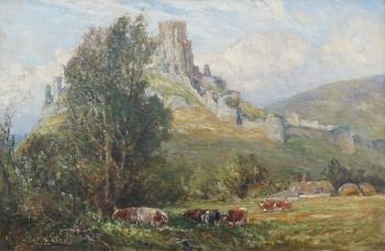 Corfe Castle, Dorset, Frederick William Newton Whitehead