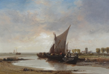 On the Sussex Coast, James Webb