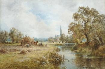 Near Salisbury, Henry John Kinnaird