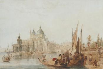 The Dogana, Venice, Italy, Edward Pritchett