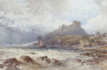 Criccieth Castle, North Wales, John Syer