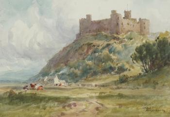 Harlech Castle, Gwynedd, Wales, Gerald Ackermann