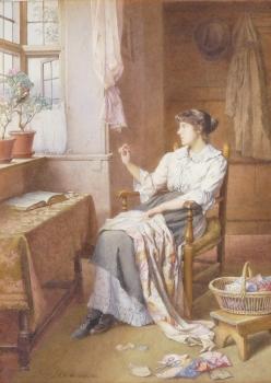A Morning Call, Charles Edward Wilson