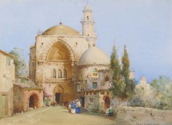 Mosque in Algeria, Noel Harry Leaver