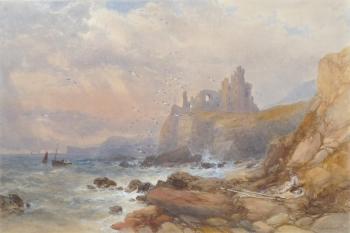 Tantallon Castle, East Lothian, Scotland, James Burrell Smith