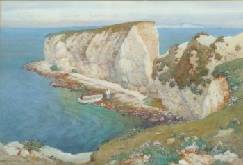 Old Harry Rocks, Dorset, Albert Moulton Foweraker