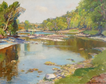 The Tay in June at Taymouth, Samuel John Lamorna Birch