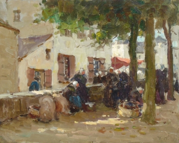 Scene in Brittany (?), Terrick Williams