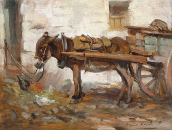 A Galway Donkey, Anna Dixon