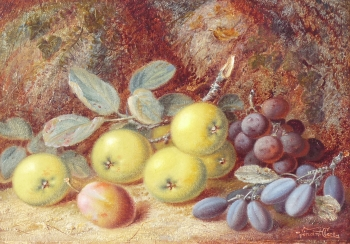 Apples, Plums & Grapes, Vincent Clare