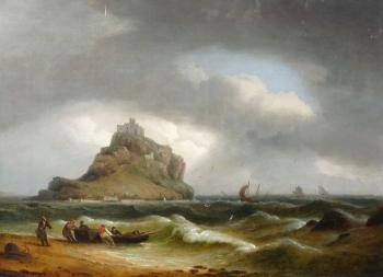 St. Michael's Mount, Cornwall, Thomas Luny