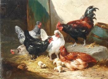Chicks & Chickens, Henry Schouten