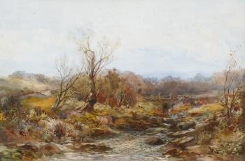 Rocky River Landscape, Albert Pollitt
