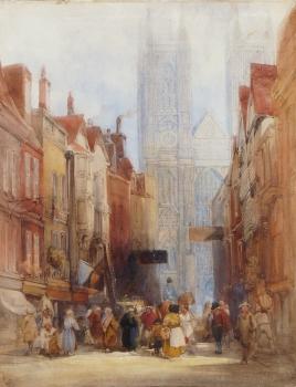 York Minster, William Callow