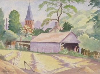 The Village Barn, Ethelbert White