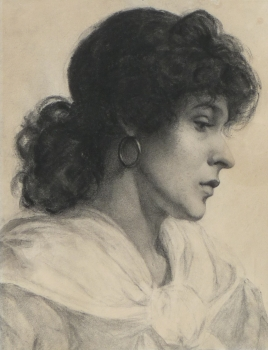 Portrait of a Gypsy Woman, John Singer Sargent